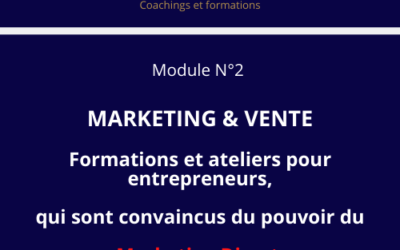 Module N° 2  MARKETING DIRECT &  VENTE